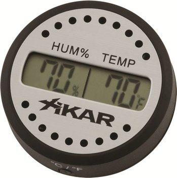 Круглый цифровой гигрометр Xikar Фото 100
