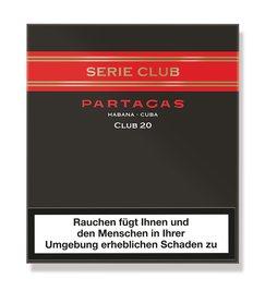 Partagas Serie Club 20er Pkg - Zigarillos