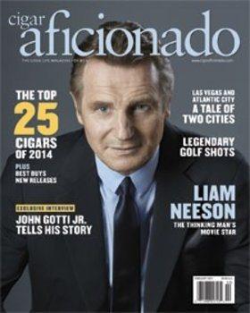 Журнал Cigar Aficionado - январь / февраль 2015 г.