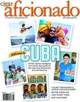Журнал Cigar Aficionado - май / июнь 2015 г.