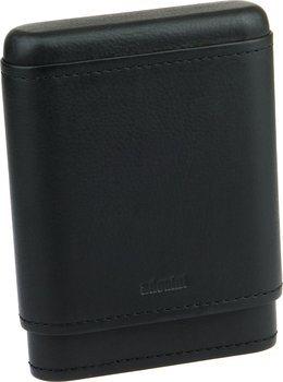 Футляр для сигары Adorini из натуральной кожи 3-5 сигары черный
