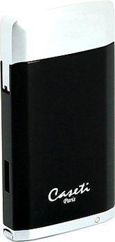Зажигалка Caseti, черный/хром