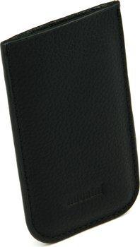 Черный кожаный чехол adorini - для гильотин размером с банковскую карту 70