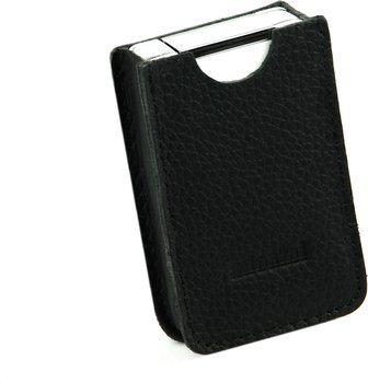 Черный кожаный чехол adorini для зажигалки