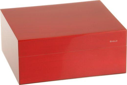 Siglo Хьюмидор S размером 50, красный