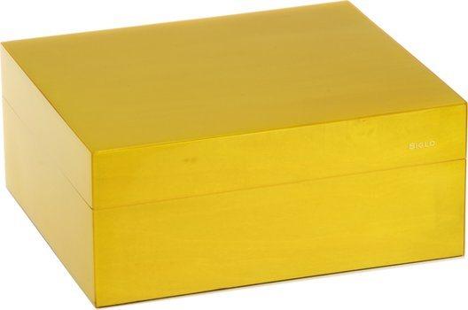 Siglo Хьюмидор S размером 50, желтый