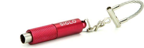 Siglo Брелок для ключей/пробойник, цвет красный металлик