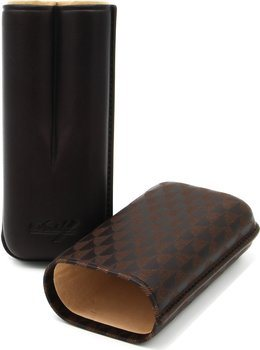 Davidoff R-2 футляр для сигар из коричневой кожи