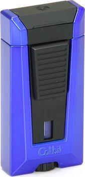 Colibri Stealth 3, зажигалка, синий цвет с металлическим оттенком