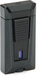 Colibri Stealth 3 зажигалка, черный металлик