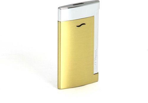 ST Dupont Slim 7 Luxury зажигалка, золотисто-желтый цвет