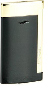ST Dupont Slim 7 27708 - черная и золотистая отделка