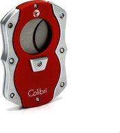 Colibri 'Cut' Гильотина для сигар, цвета красный/серебряный
