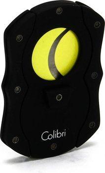 Резак для сигар Colibri, черный/желтый цвет