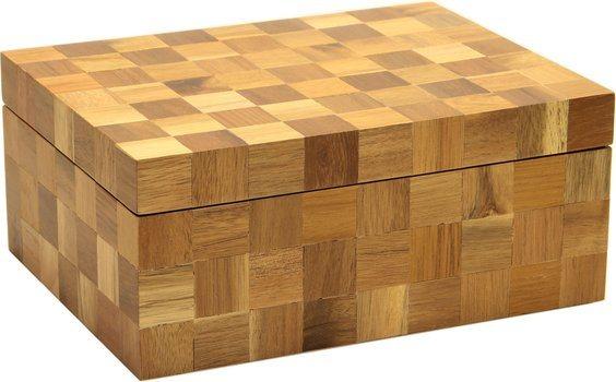 Хьюмидор Wood Checkered