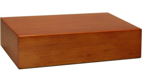 Хьюмидор на 20 сигар, бамбук, цвет коричневый, матовый