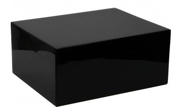 Черный лакированный Хьюмидор Guy Janot 50