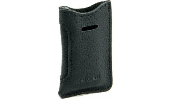 adorini Черный кожаный чехол для зажигалок S.T. Dupont Slim