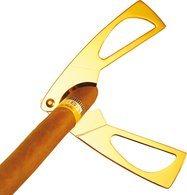 Ножницы для сигар Adorini золотистые