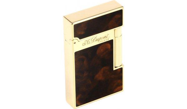 ST Dupont Atelier зажигалка, темно-коричневый китайский лак