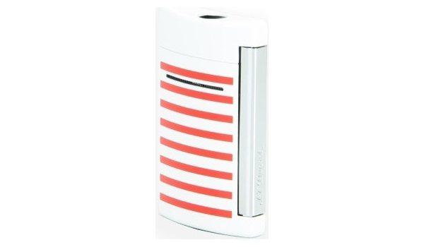 ST Dupont Minijet 10108 - сине белые красные полосы
