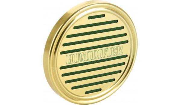 Губчатый увлажнитель круглый золотой