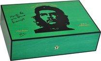 Хьюмидор Elie Bleu Che, зеленый платан