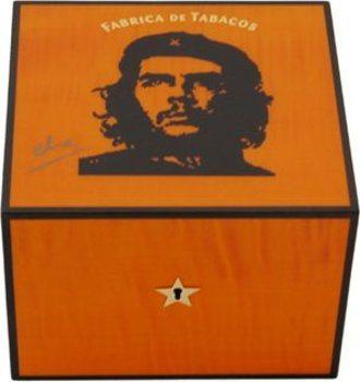 Хьюмидор Elie Bleu Che, цвет оранжевый