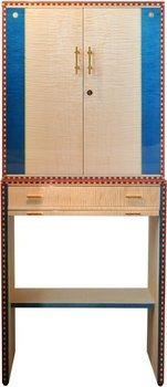 Сигарный шкаф Elie Bleu Flor De Alba на 600 сигар, натуральный платан