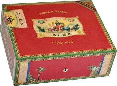 Хьюмидор Elie Bleu Flor De Alba на 75 сигар, цвет красный