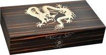 Хьюмидор Elie Bleu Marquetry Dragon, черное дерево