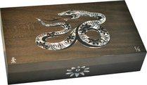 Эксклюзивный хьюмидор Elie Bleu Mother-of-Pearl Snake, цвет серый (от 1 до 8)