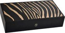 Хьюмидор Elie Bleu Safari Panther Marquetry на 110 сигар, цвет натуральный
