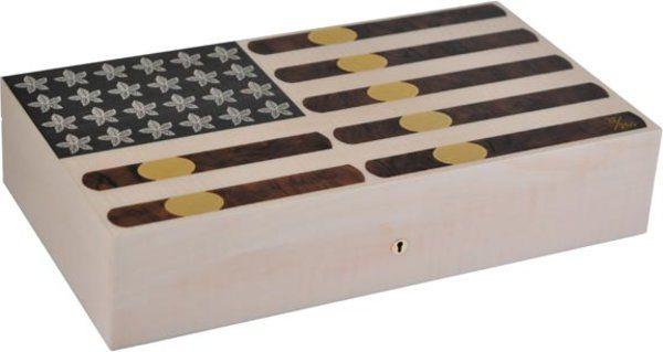 Эксклюзивный хьюмидор Elie Bleu Stars & Stripes на 110 сигар