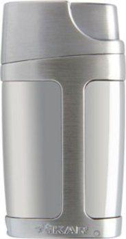 Зажигалка Xikar Element Double Jet - серебро