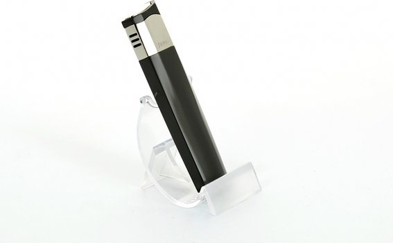 Зажигалка Sarome, черная с перламутровой отделкой