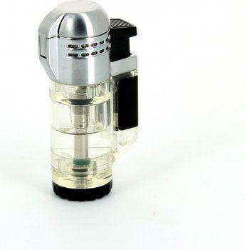 Зажигалка с двойным пламенем Xikar tech, прозрачный