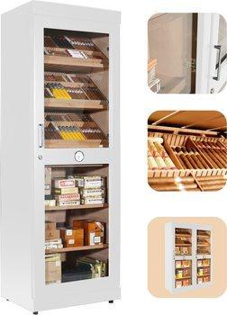 Adorini Roma (white) electronic humidor cabinet