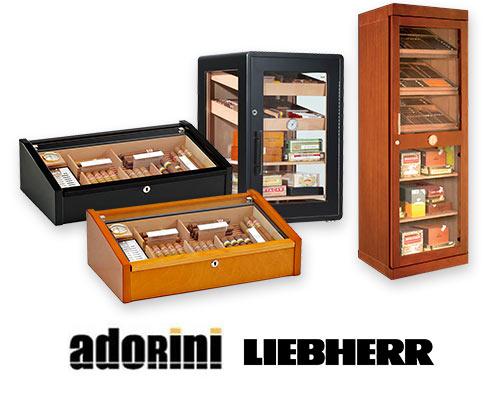 Сигарные шкафы
