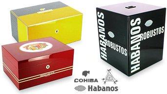 Cohiba хьюмидоры, Монтекристо, Habanos
