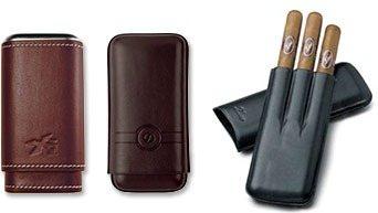 Кожаные футляры для сигар